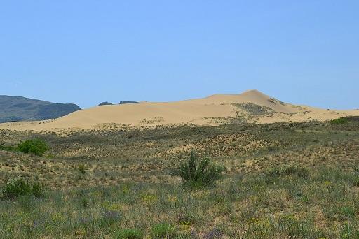 Посещение самой большой дюна Европы – это Сары-Кум