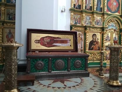 Церковь Симеона Верхотурского. Меркушино.