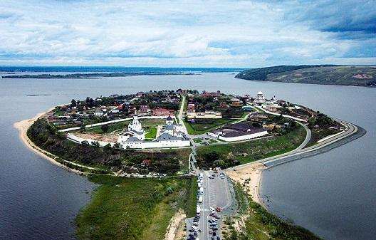 Остров Град Свияжск и Раифский Богородицкий мужской монастырь