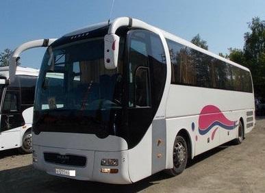 автобус туристического класса люкс марки MAN Lion`s coach