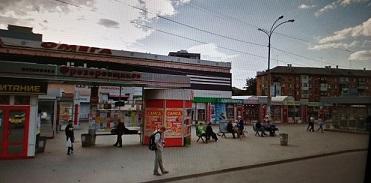 Место отправления автобуса  из г. Екатеринбурга