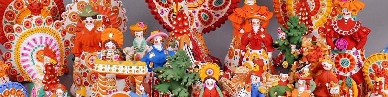Посещение музея «Дымковской игрушки»